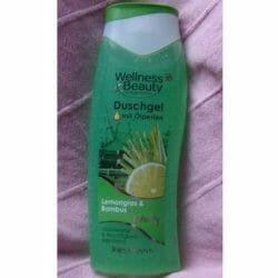 Produktbild zu Wellness & Beauty Duschgel mit Ölperlen Lemongras & Bambus