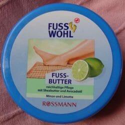 Produktbild zu FUSSWOHL Fussbutter Minze und Limette