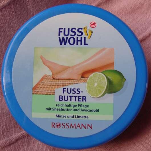 FussWohl Fussbutter Minze und Limette