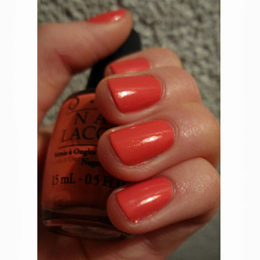OPI Nail Lacquer, Farbe: I Eat Mainly Lobster