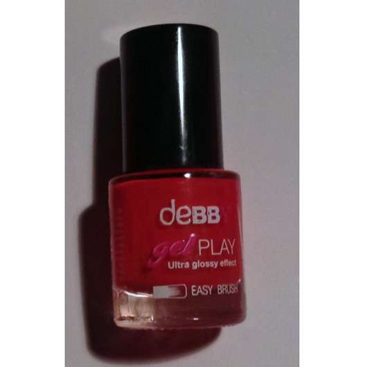 debby gelPLAY nail polish, Farbe: 09 poppy