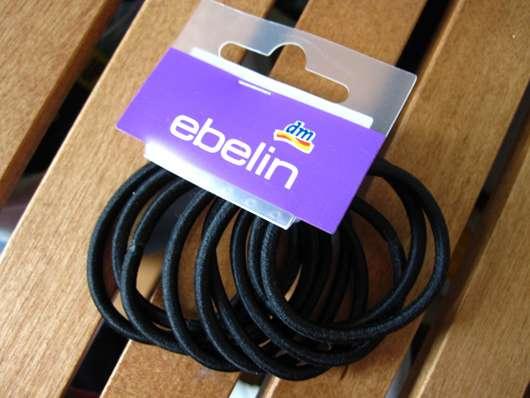ebelin Haargummis ohne Metall (Schwarz; 9 Stück)