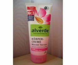 Produktbild zu alverde Naturkosmetik Körpercreme Mandel Teerose (für sehr trockene Haut)