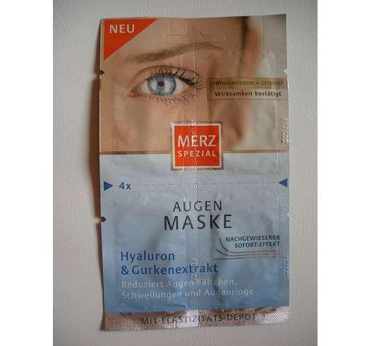 <strong>Merz Spezial</strong> Augen Maske Hyaluron & Gurkenextrakt