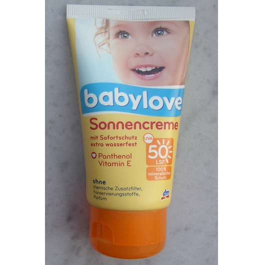 <strong>babylove</strong> Sonnencreme LSF 50
