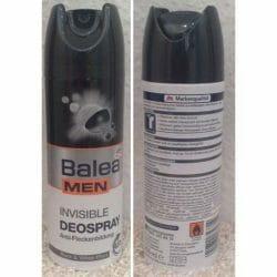 Produktbild zu Balea Men Invisible Deospray