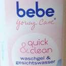 bebe Young Care quick & clean Waschgel & Gesichtswasser
