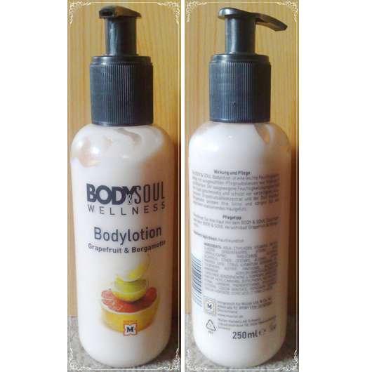 <strong>Body & Soul Wellness</strong> Bodylotion Grapefruit & Bergamotte