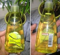 "Produktbild zu Wellness & Beauty Bodytonic Vitality ""Gurke & Limone"" (LE)"
