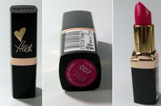 ASTOR HEIDI COLOR LAST VIP Lipstick, Farbe: 007 Bubbly