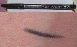Produktbild zu Dobner Kosmetik BL Deluxe Kajalstift – Farbe: Schwarz