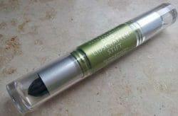 Produktbild zu alverde Naturkosmetik Duo-Lidschatten-Stift – Farbe: 10 Black & Silver