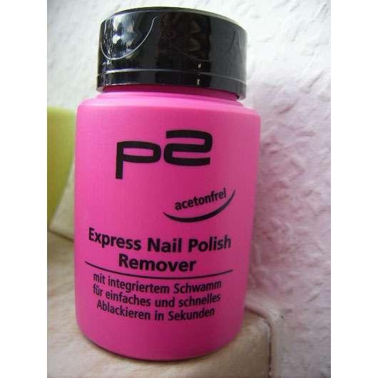 p2 Express Nail Polish Remover (Acetonfrei)