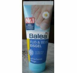 Produktbild zu Balea Fuß & Bein Eisgel