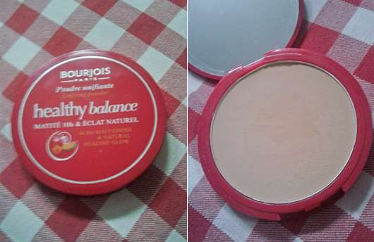 <strong>Bourjois Paris</strong> Healthy Balance Unifying Powder - Farbe: 53 Light Beige