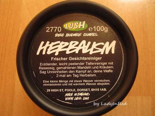 LUSH Herbalism (Frischer Gesichtsreiniger)