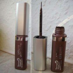 Produktbild zu Terra Naturi Naturkosmetik Liquid Eyeliner – Farbe: 02 Teak