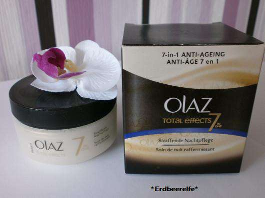<strong>Olaz Total Effects</strong> Straffende Nachtpflege