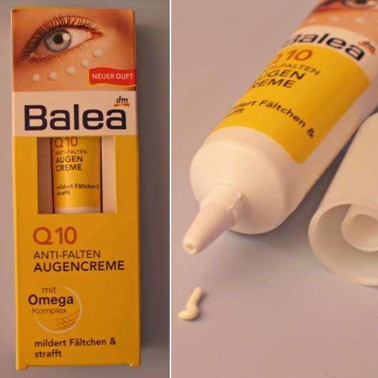 Balea Q10 Anti-Falten Augencreme