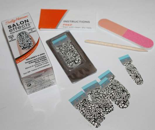 Sally Hansen Salon Effects Real Nail Polish Strips, Farbe: 220 Cut It Out