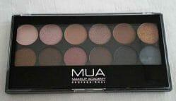 Produktbild zu MUA Makeup Academy Eyeshadow Palette – Farbe: Undressed
