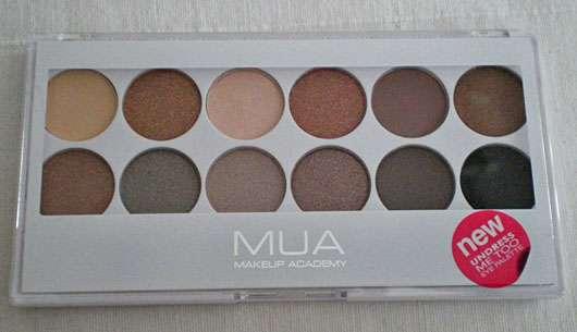 MUA Makeup Academy Eyeshadow Palette, Farbe: Undress Me Too