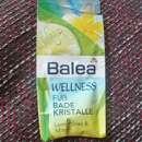 Balea Wellness Fuß Badekristalle Lemongras & Minze