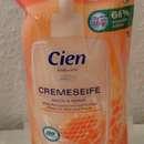 Cien Bodycare Cremeseife Milch & Honig (Nachfüllpack)