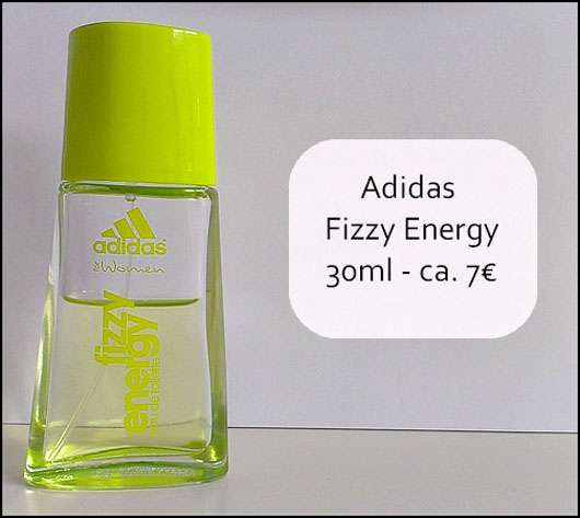 adidas for woman fizzy energy Eau de Toilette