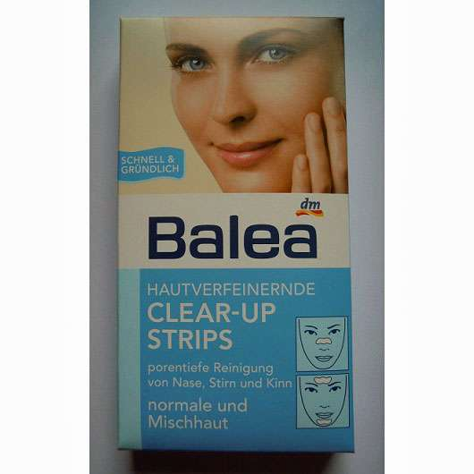 Balea Hautverfeinernde Clear-Up Strips