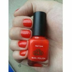 Produktbild zu LCN Nail Polish – Farbe: 361 hot chilli (LE)