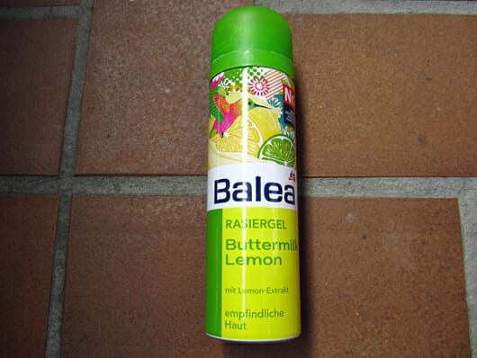 Balea Rasiergel Buttermilk Lemon (LE)