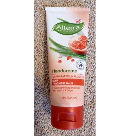 Alterra Handcreme Granatapfel & Aloe Vera