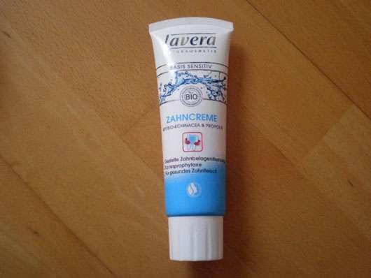 lavera Basis sensitiv Zahncreme mit Bio-Echinacea & Propolis