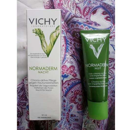 Vichy Normaderm Nacht Chrono-aktive Pflege