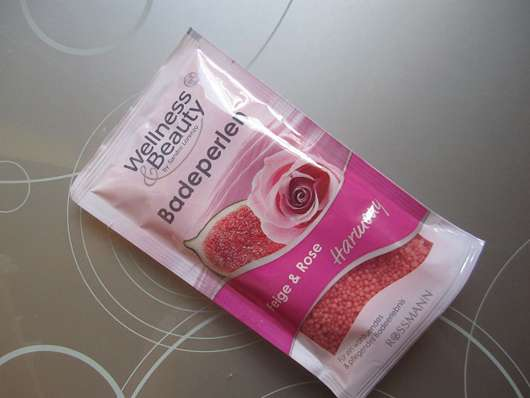 Wellness & Beauty Badeperlen Feige & Rose