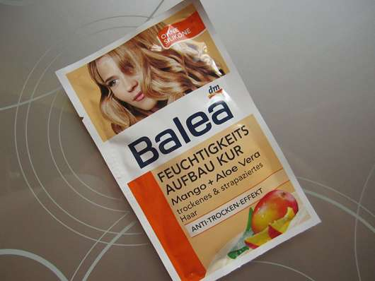 Balea Feuchtigkeits-Aufbau-Kur Mango + Aloe Vera