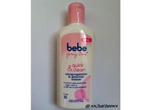 bebe Young Care quick & clean reinigungslotion & gesichtswasser