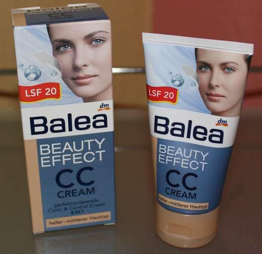 Balea Beauty Effect CC Cream, Farbe: heller – mittlerer Hauttyp