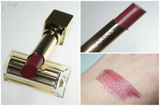 <strong>Clarins</strong> Rouge Eclat Lippenstift - Farbe: True Aubergine