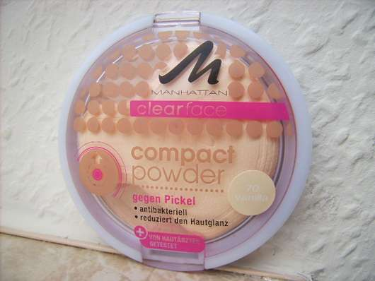 MANHATTAN CLEARFACE Compact Powder, Farbe: 70 Vanilla