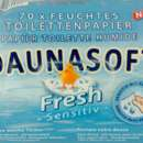 Daunasoft Fresh Sensitive Feuchtes Toilettenpapier