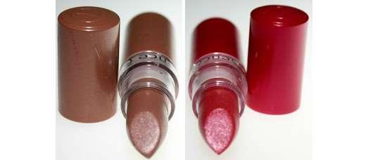 essence Lipstick, Farbe: 63 flattering nude & 64 flirty pink