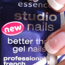 essence studio nails better than gel nails professional french nail tips long style