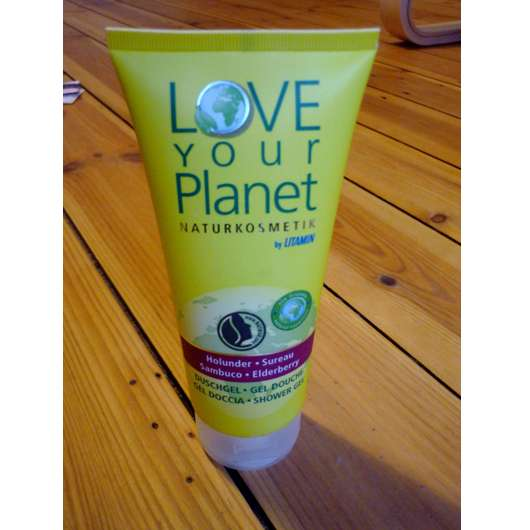 <strong>Love Your Planet Naturkosmetik by Litamin</strong> Holunder Duschgel