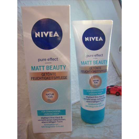Nivea Pure Effect Matt Beauty Getönte Feuchtigkeitspflege