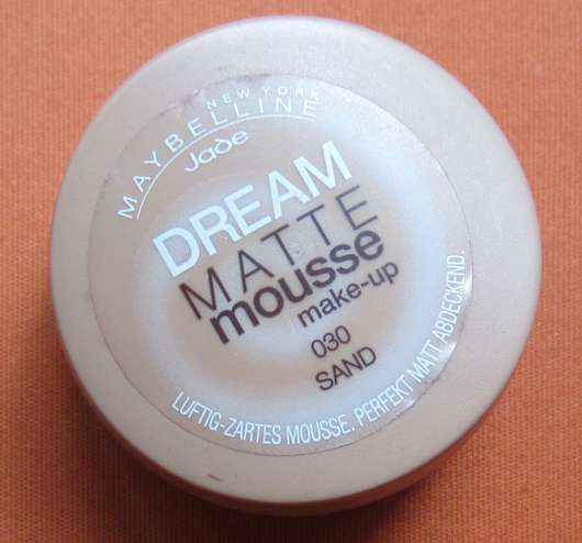 Maybelline Jade Dream Matte Mousse Make-up, Farbe: 030 Sand