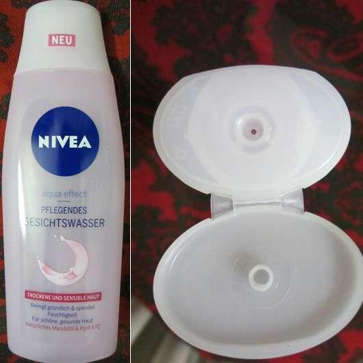 Nivea Aqua Effect Pflegendes Gesichtswasser (trockene und sensible Haut)