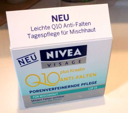 NIVEA Q10 Plus Anti-Falten Porenverfeinernde Pflege