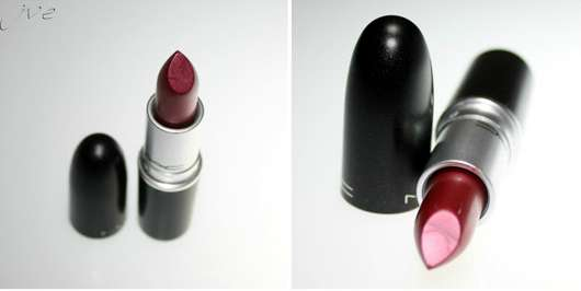 M.A.C. Lipstick, Farbe: New York Apple
